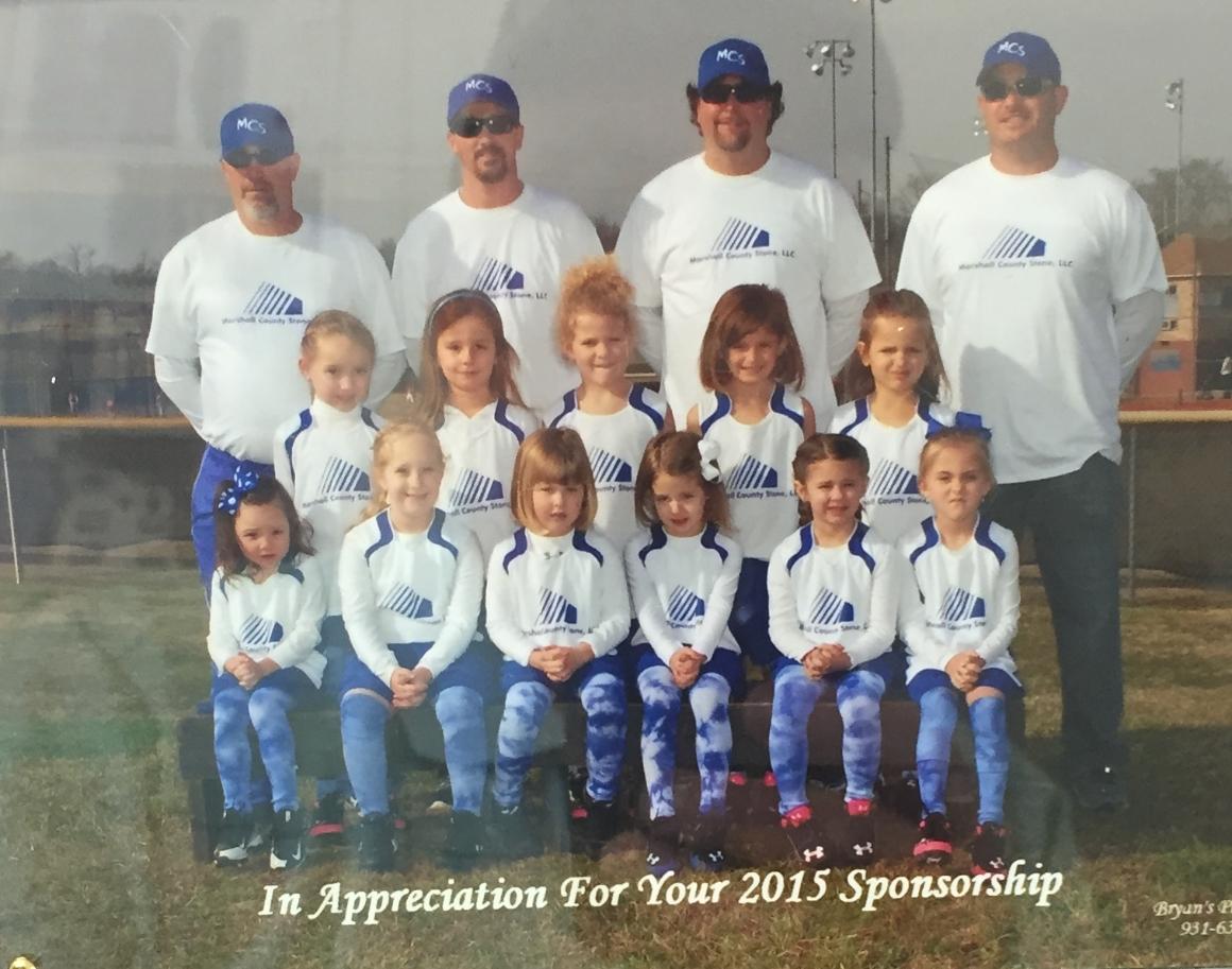2015 Rockettes Softball Team