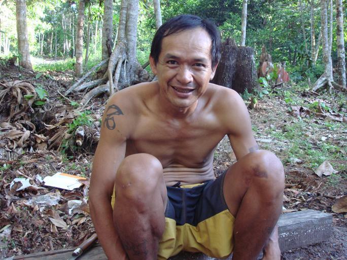 Shaman Ricardo Amaringo, Peruvian Amazon. Photo by Chris Kilham © 2010