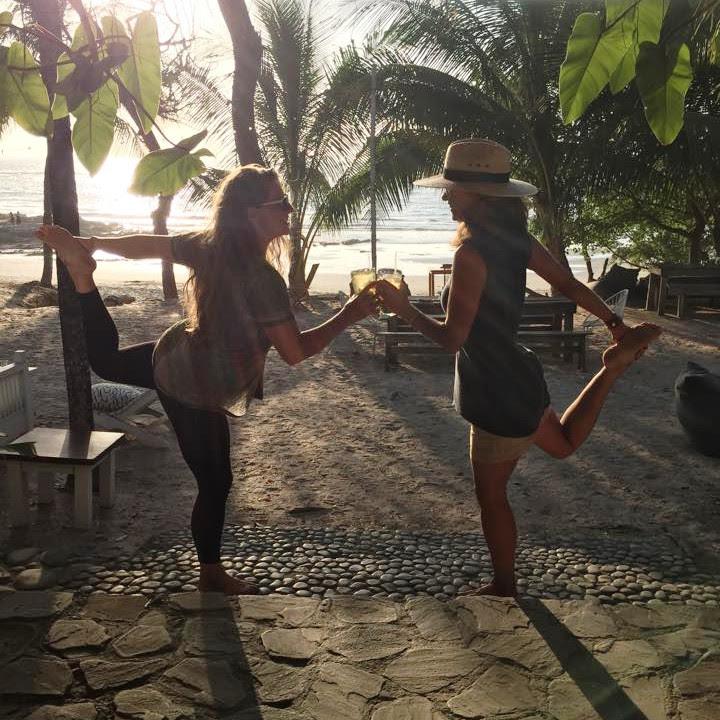 "Dancer, ""Natarajasana"" With a Partner!"