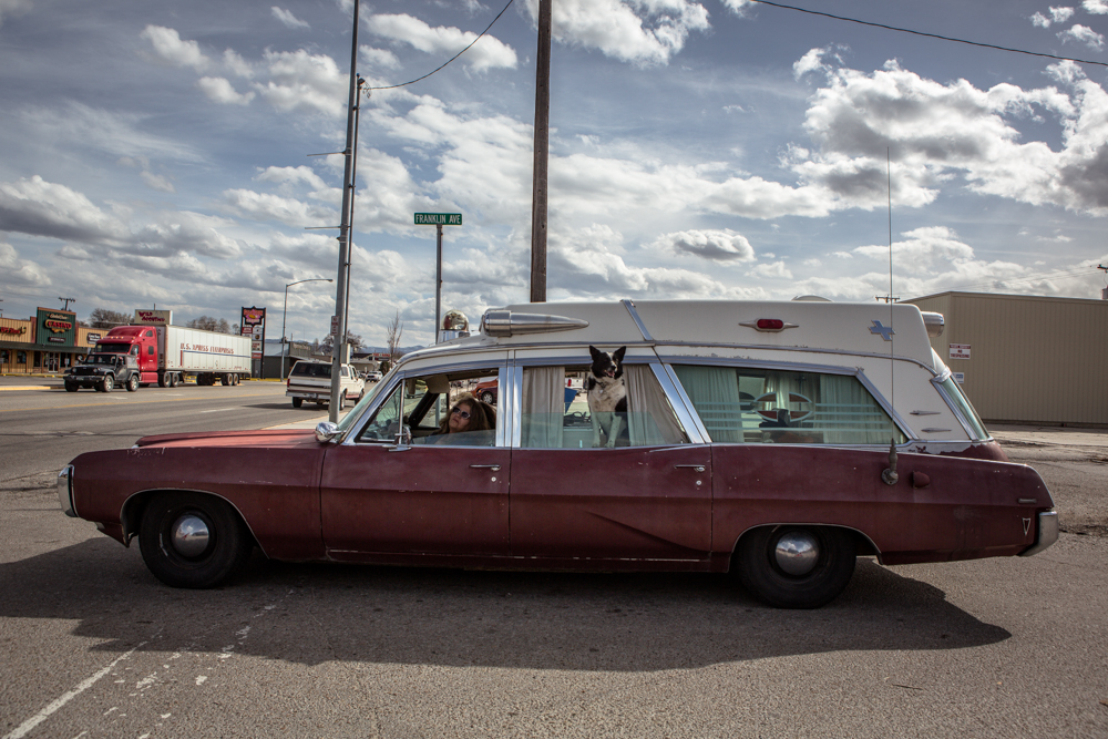 1968 Pontiac ambulance
