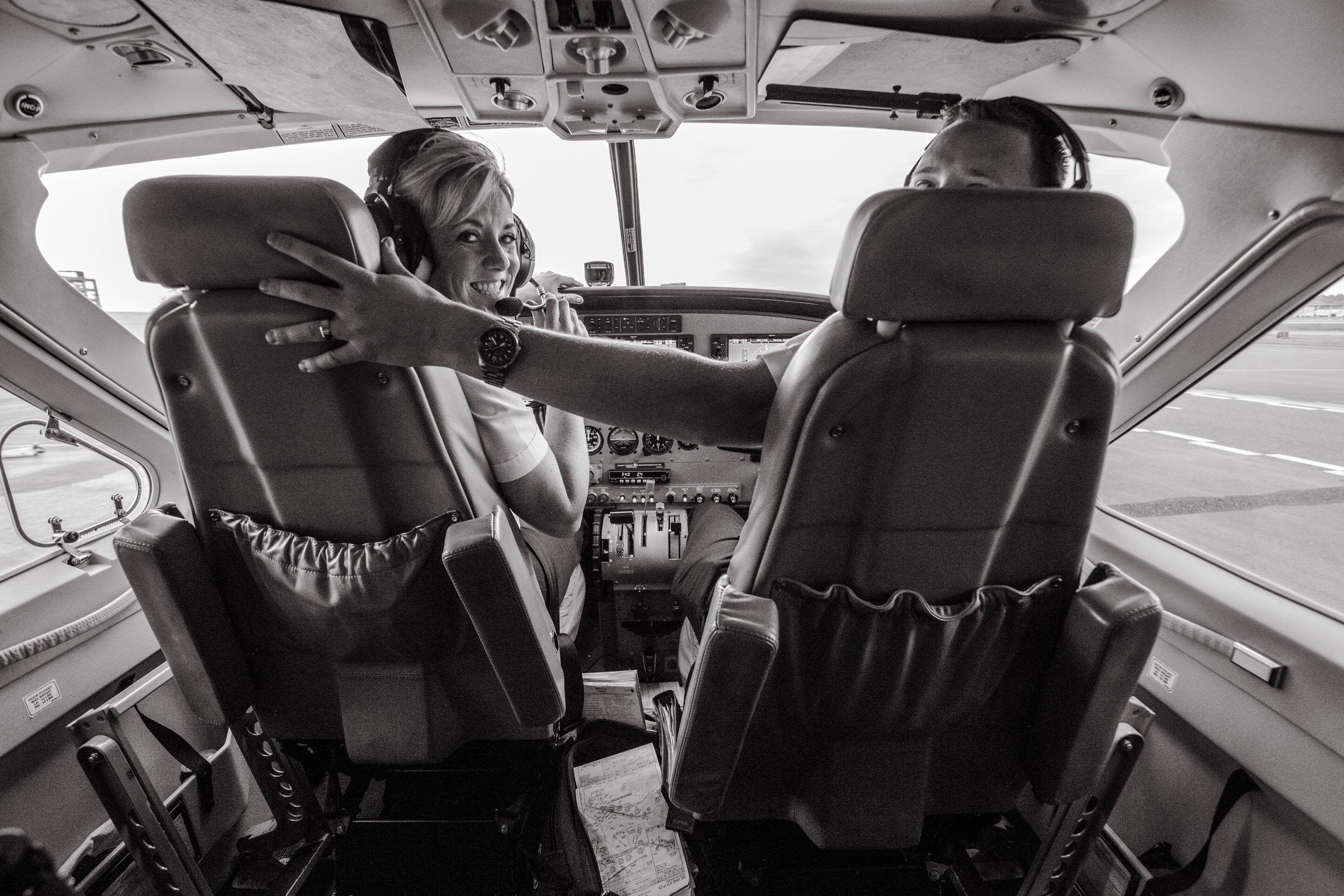 Captain Candy & Co-Pilot Andy