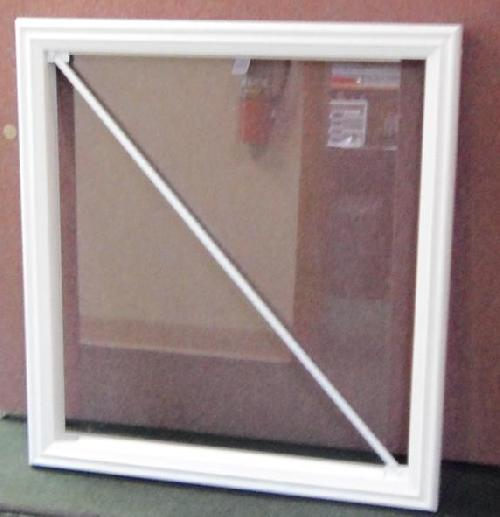 Trex Transcend with Glass Panel