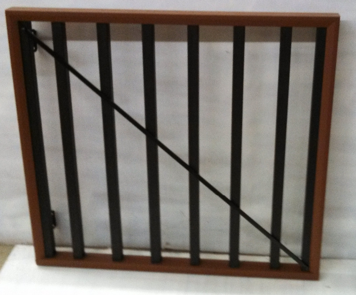 """TimberTech Evolutions Contemporary Gate (Does not include 6"""" wide top rail cap)"""