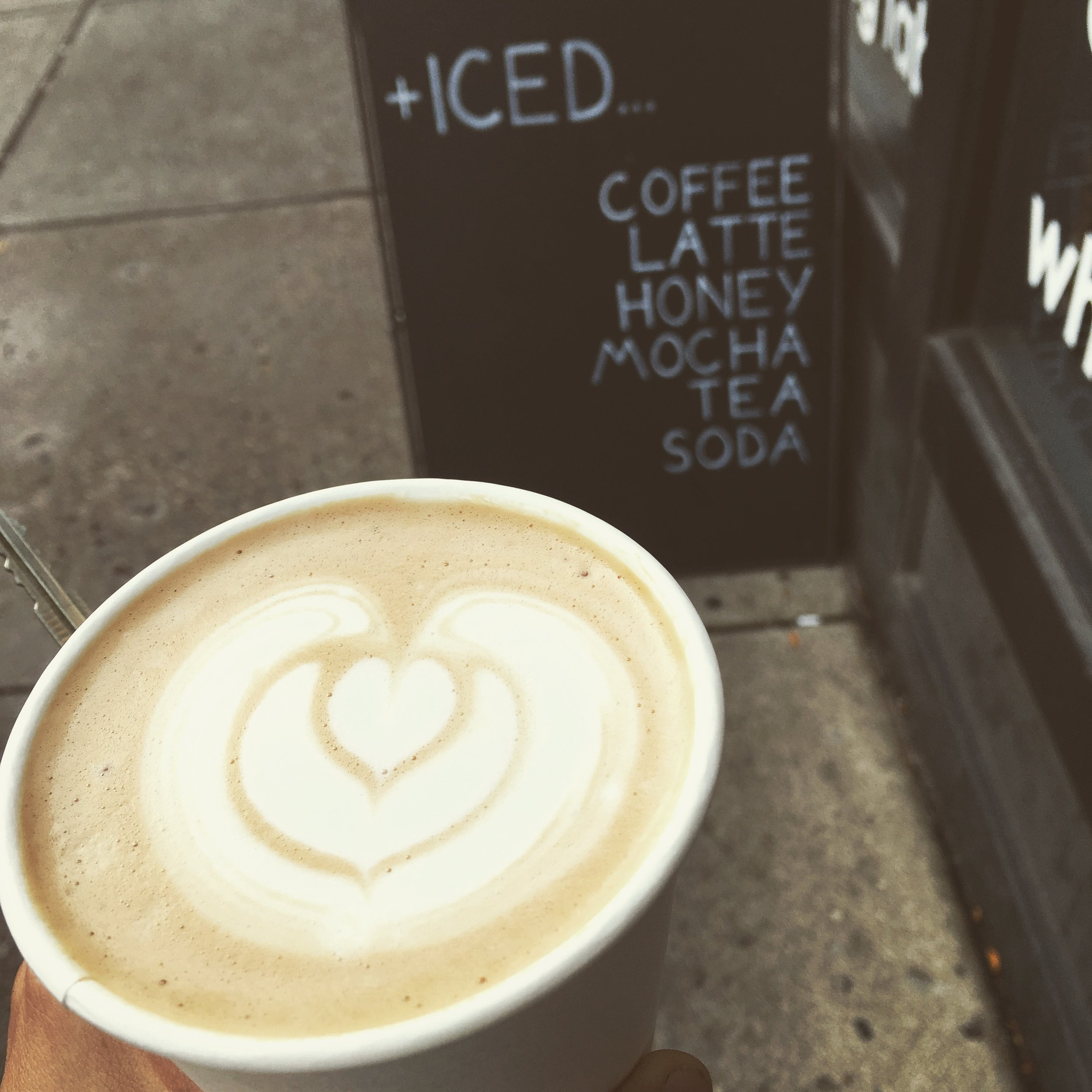One Line Coffee, in the Short North- uses our Summer Honey in their honey latte recipe.