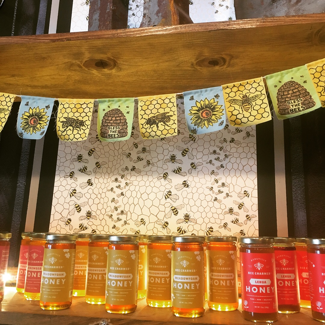 The honey... it's... glowing!