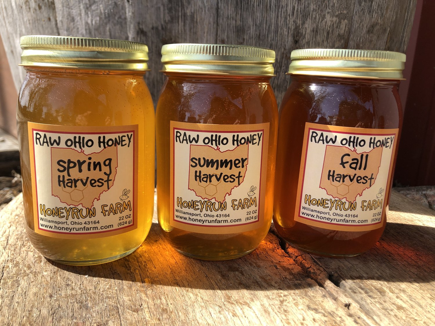 Pure Raw Honey — Honeyrun Farm