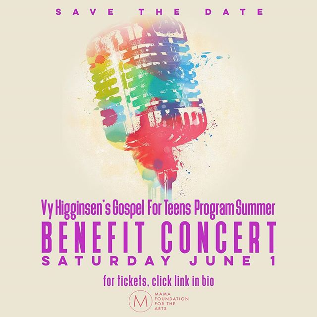 We're so excited and can't wait for you to be at this years #BenefitConcert! Were twisting some things up this year!!! SAVE THE DATE and GET YOUR TICKETS!!! Link in bio!