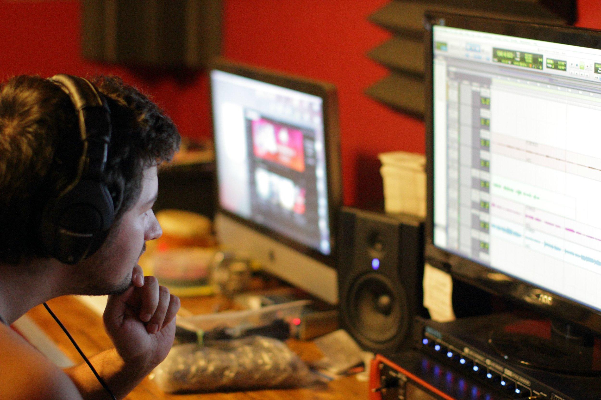 local recording studio