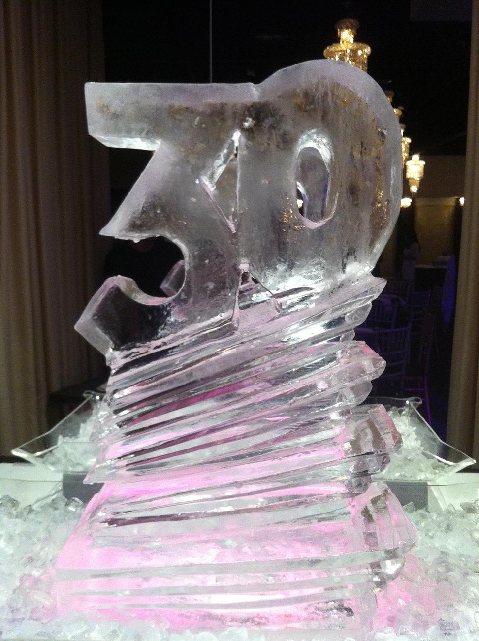 30 ice sculpture