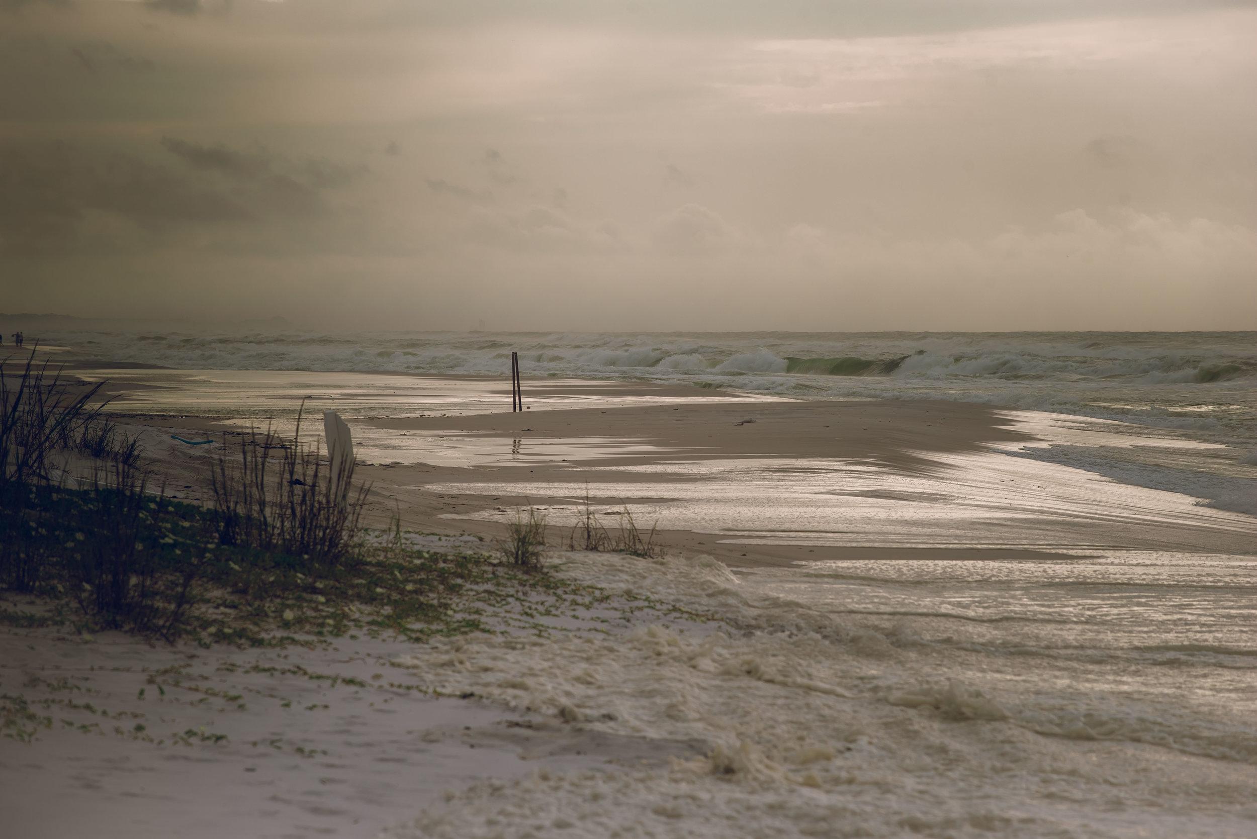 Tuesday morning.  Miramar Beach.