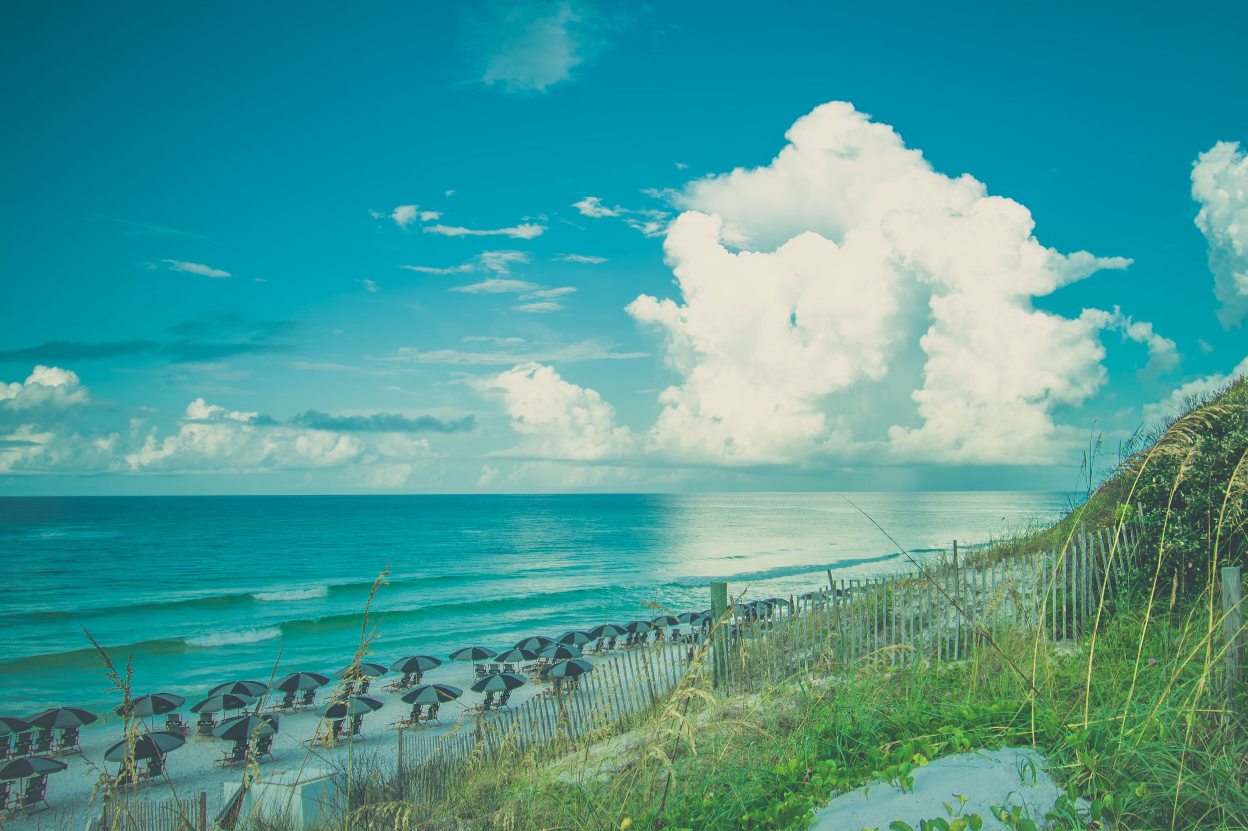 Beautiful, Blue Mountain Beach, Florida