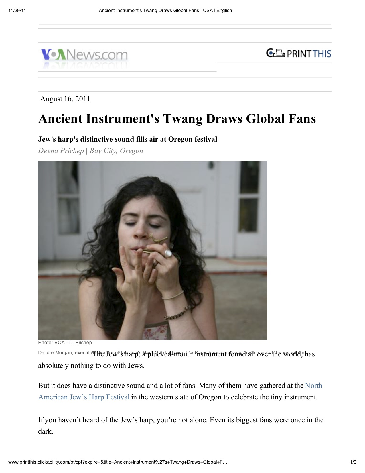 Ancient Instrument's Twang Draws Global Fans _ USA _ English.jpg