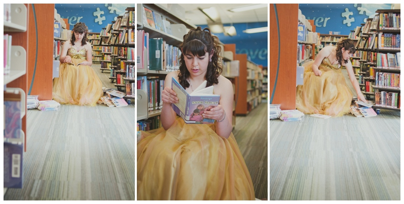 Megan and her books
