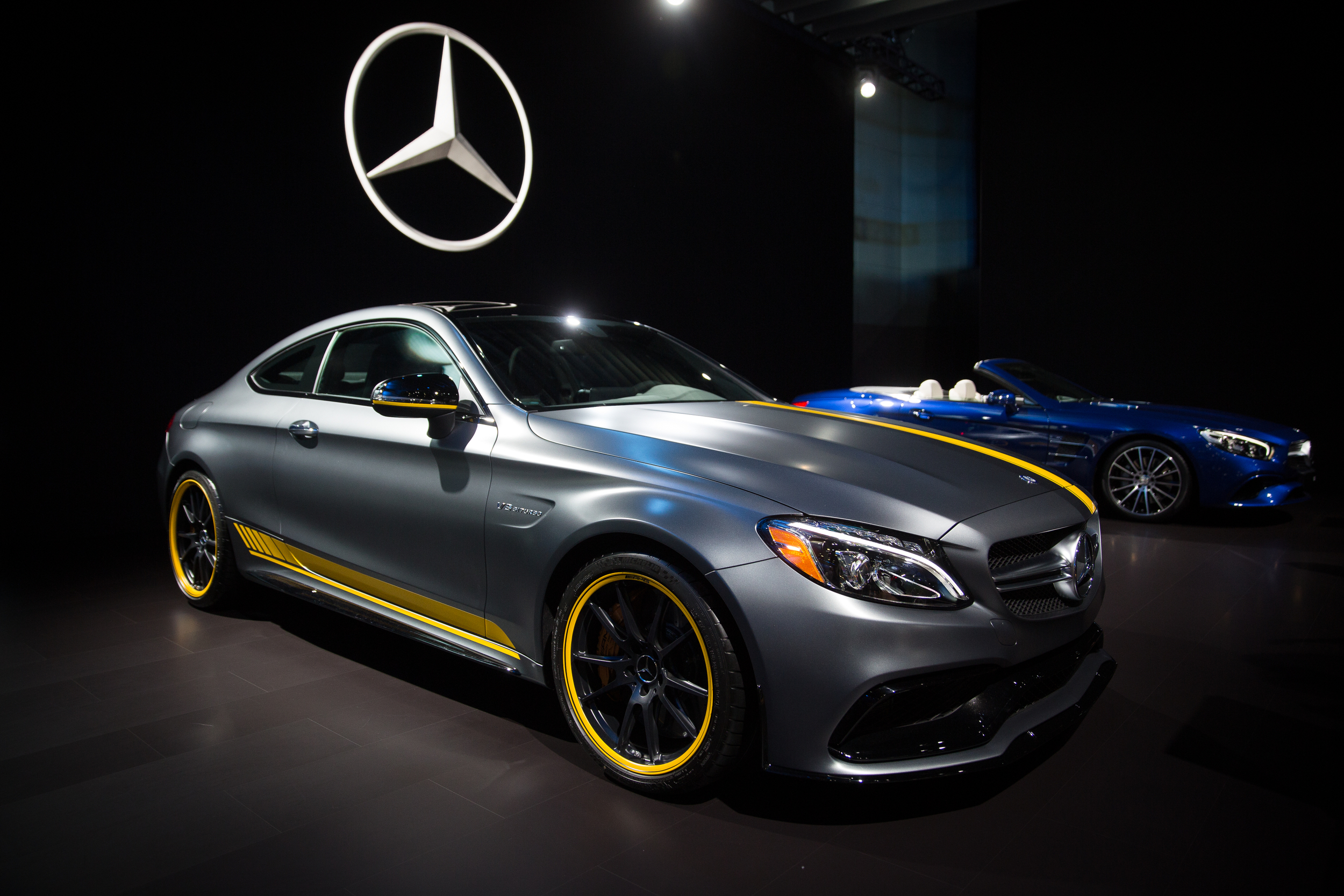 Mercedes seems to have the most shiny display this year - 2015 LA Auto Show