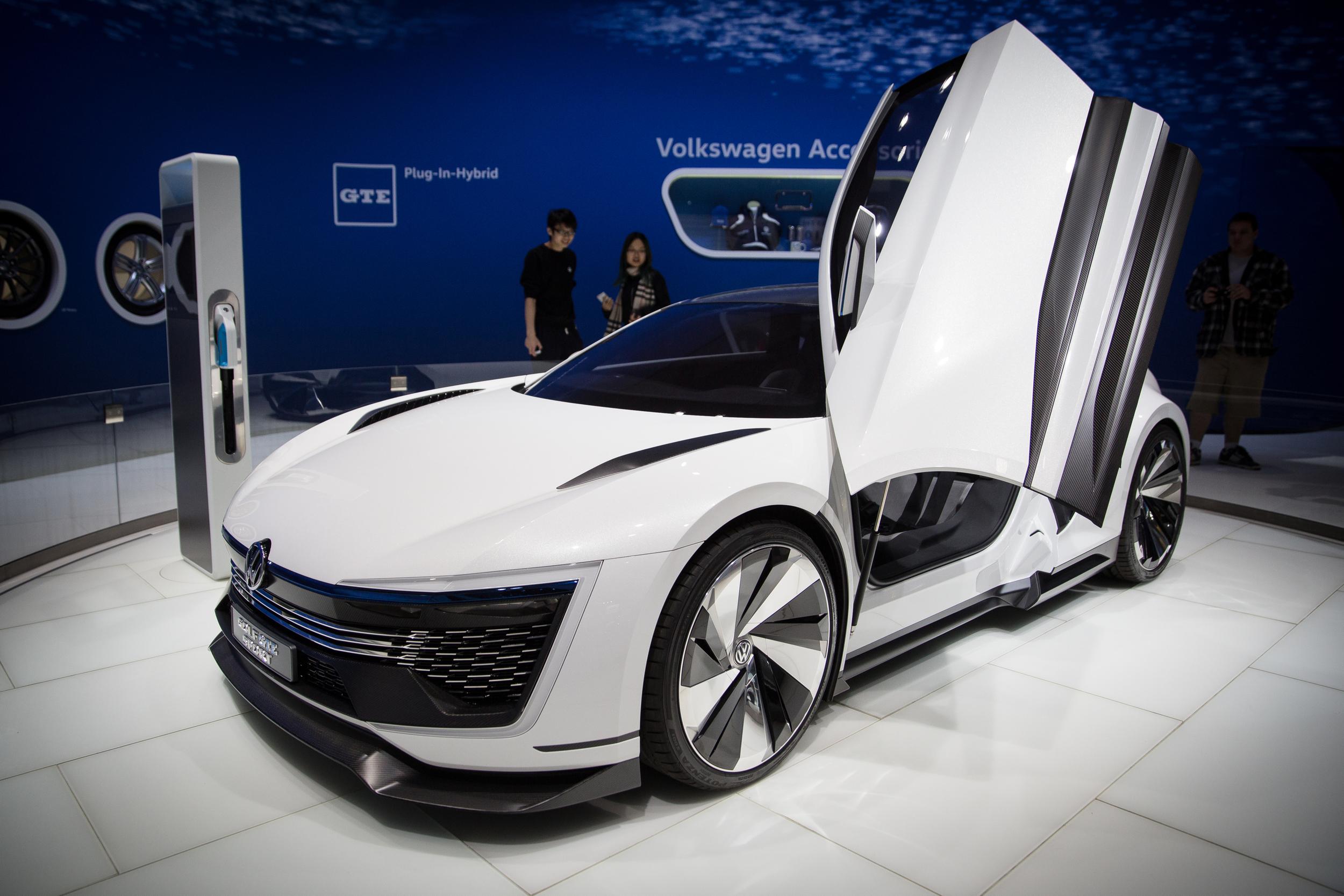 Volkswagen Concept Supercar - 2015 LA Auto Show