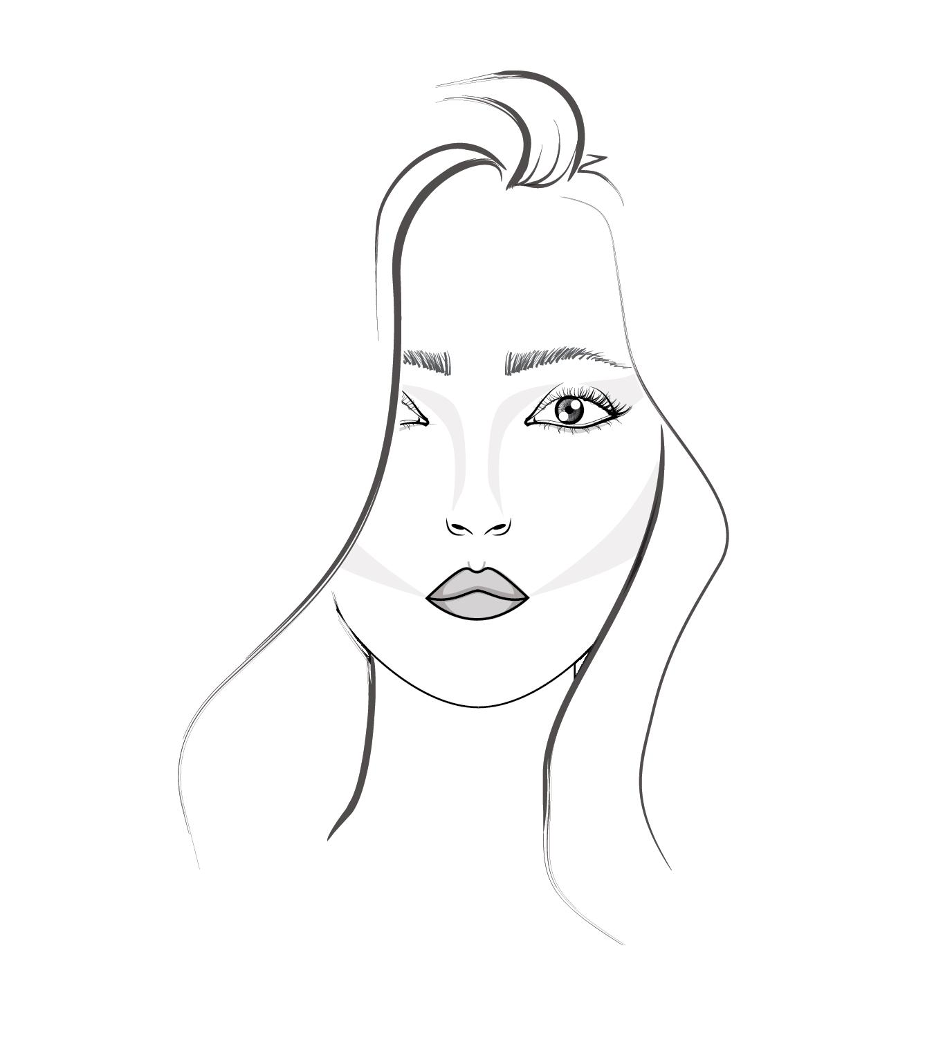 3 Step Tutorial How To Draw Hair For Fashion Illustration Amiko Simonetti