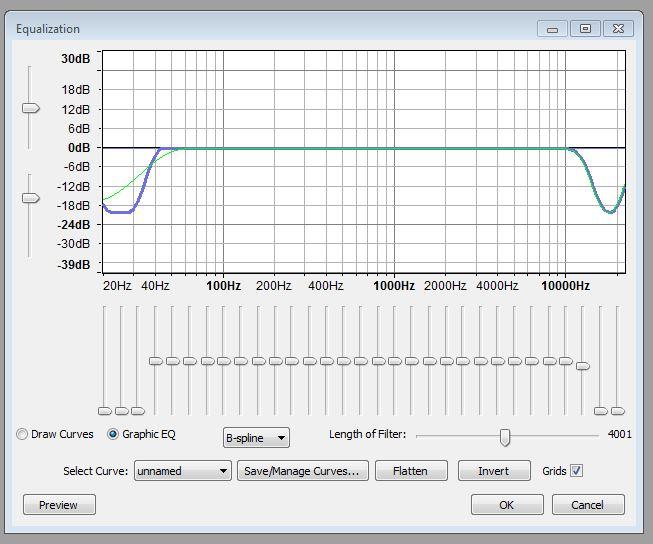 EQ Voice Over Audio