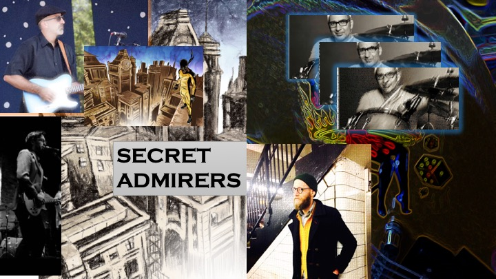 "Secret Admirers play trippy, original, alternative roots music (""More bands should be making music like this"" -- New York Music Daily)"
