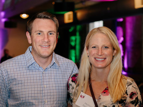 Melissa Newton and Peter Graves - Melissa is Accounting and HR Manager at 8Z Real EstateMelissa is a two-time Scholar selection readerMelissa was Scholar Selection interviewerThree-time Glass Half Full attendees8z has sponsored four Scholars8z is a four year Venus de Miles SponsorFirst-time Annual Inspire host