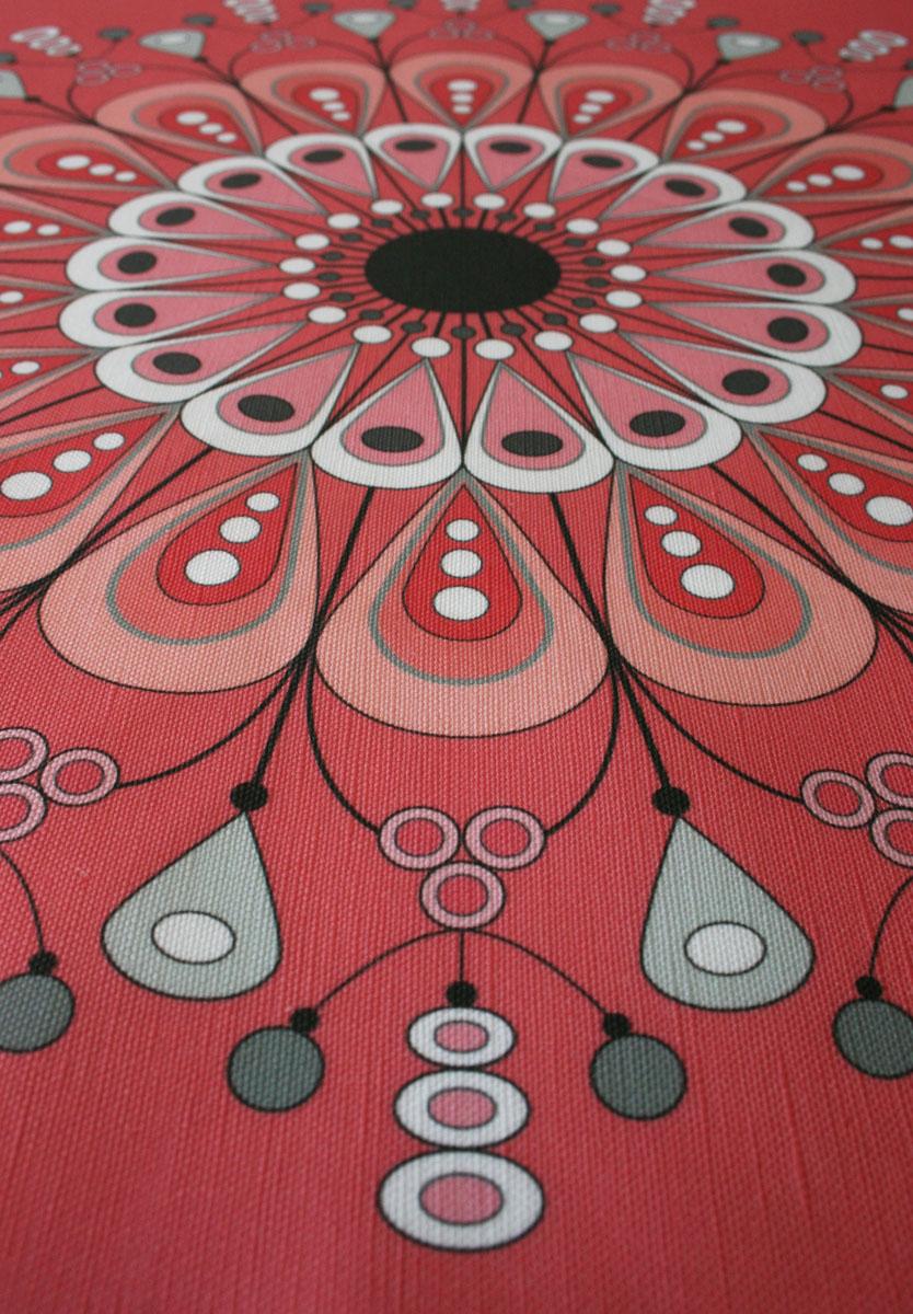 Blumengarten cushion fabric - linen/cotton blend