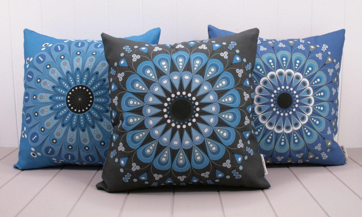 Textiles Blumengarten