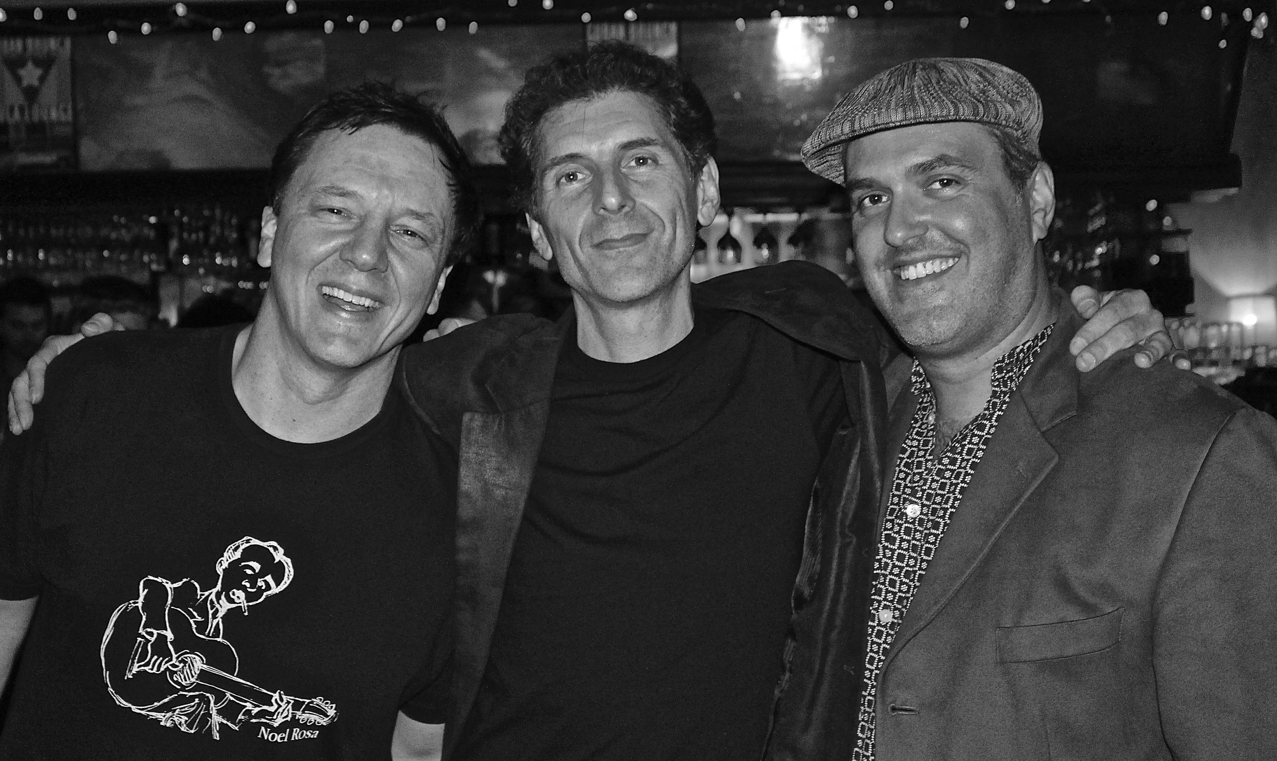 With percussionist Alan Hetherington and bassist Louis Simao in Toronto