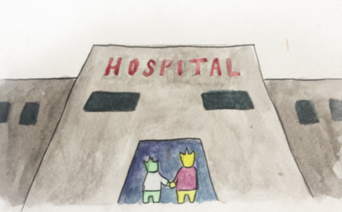 CHILDREN'S BOOK FOR THE CHRONICALLY ILL