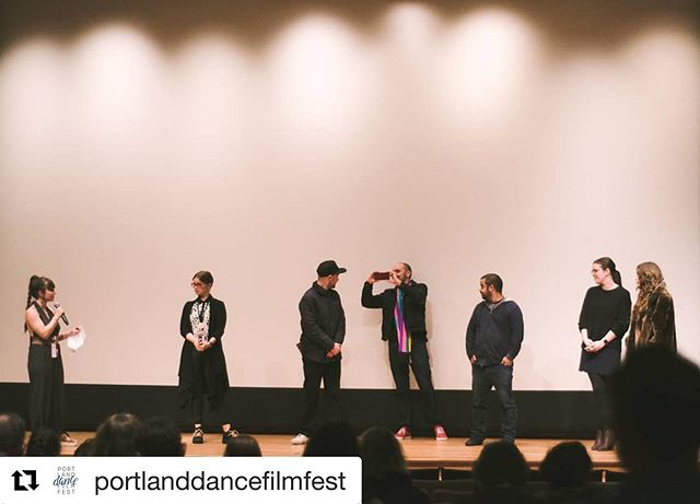 Thank you so much for having us, @portlanddancefilmfest! What an honor to be back in the beautiful city where this film journey started. ✨ #Repost @portlanddancefilmfest ・・・ Great talkback during the first night! Thank you to the artists for sharing some insight into their filmmaking process. @janiquette @kolkatasanved #femalefilmmakers #danceandsocialjustice #womenempoweringwomen #socialchange #filmmaking #portland #oregon #india #kolkata