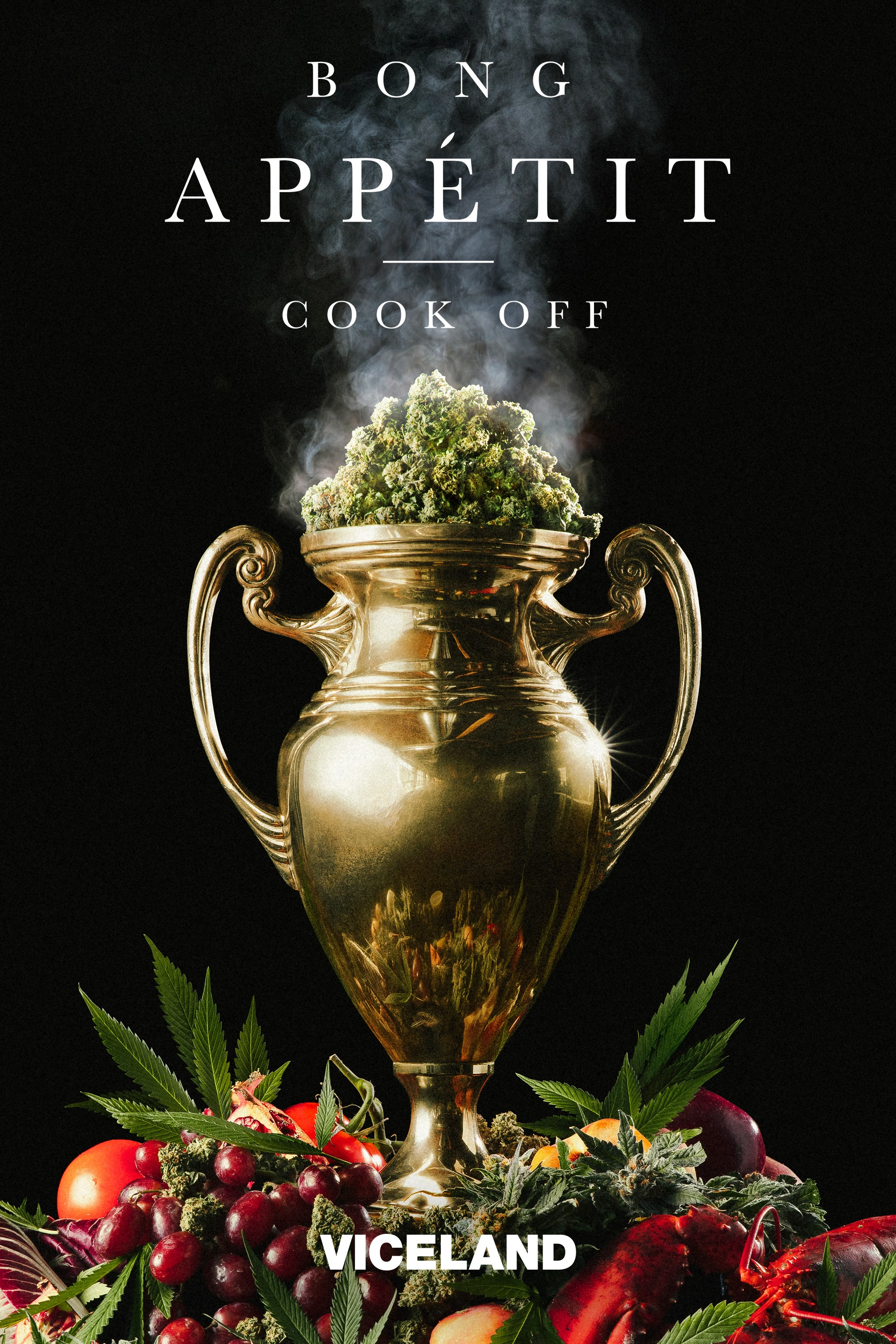 VICELAND:   BONG APPETIT   B Real, Vanessa Lavorato, and Miguel Trinidad oversee a competition where high-end cuisine meets high-end cannabis.