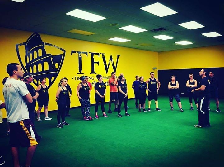 A year ago today... Martin Rooney coaching our students at 5:00PM Happy Hour class! Their task when they left that night? SLAY SOME DRAGONS?? #strong #better #fitness #familia #dragons #trainingforwarriors #health #better #motivation
