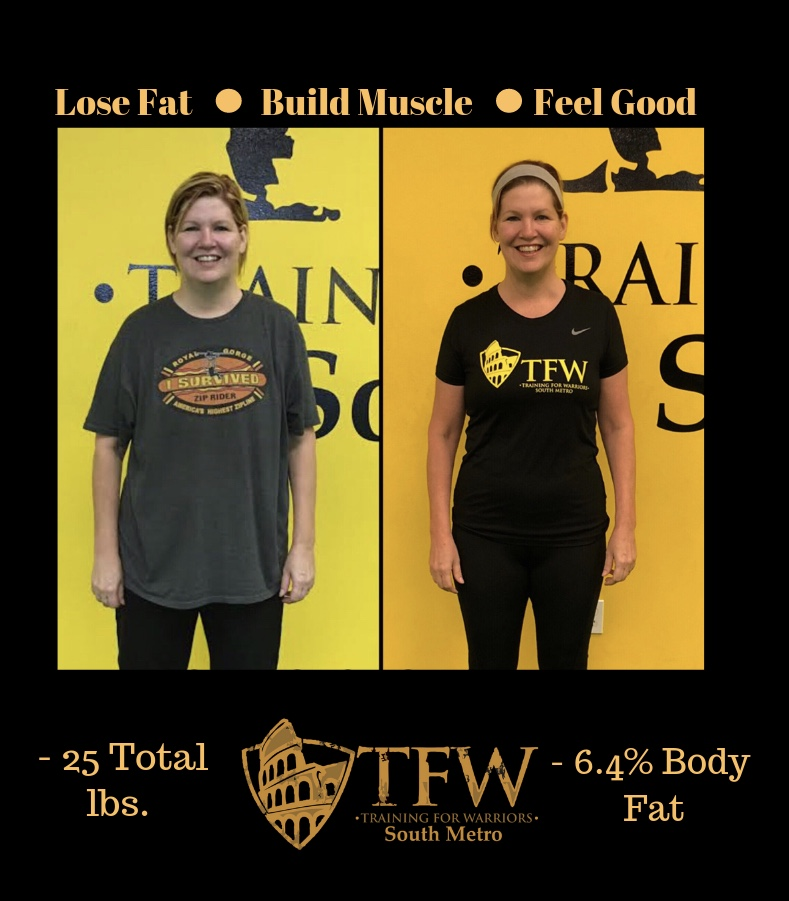 TFW South Metro student lost 25 pounds and 6.4% body fat