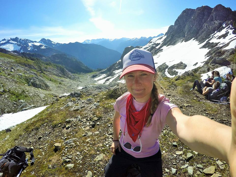 Mountaineering w/ NOLS in the North Cascade Mountains in June 2015