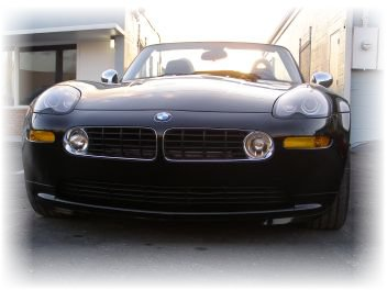 BMW Z front end damage repair