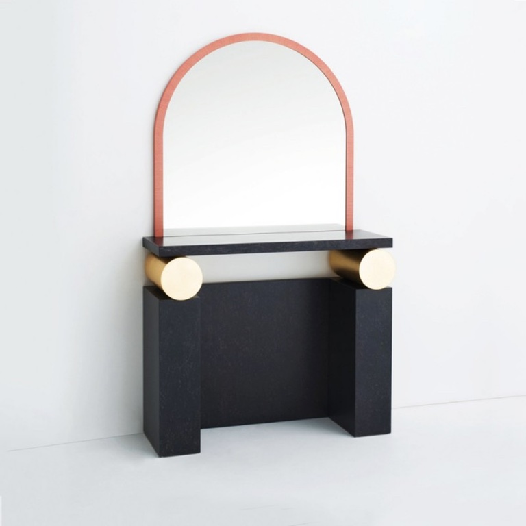 Etrusco Vanity Table  by Ettore Sottsass