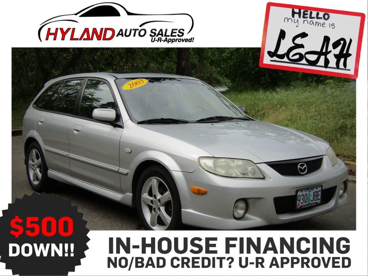 In House Financing Car Dealers >> 2003 Mazda Protege 5 Hatchback Hyland Auto Sales Used