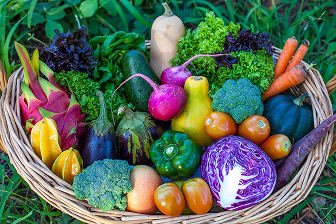 Napili Farmers Market produce