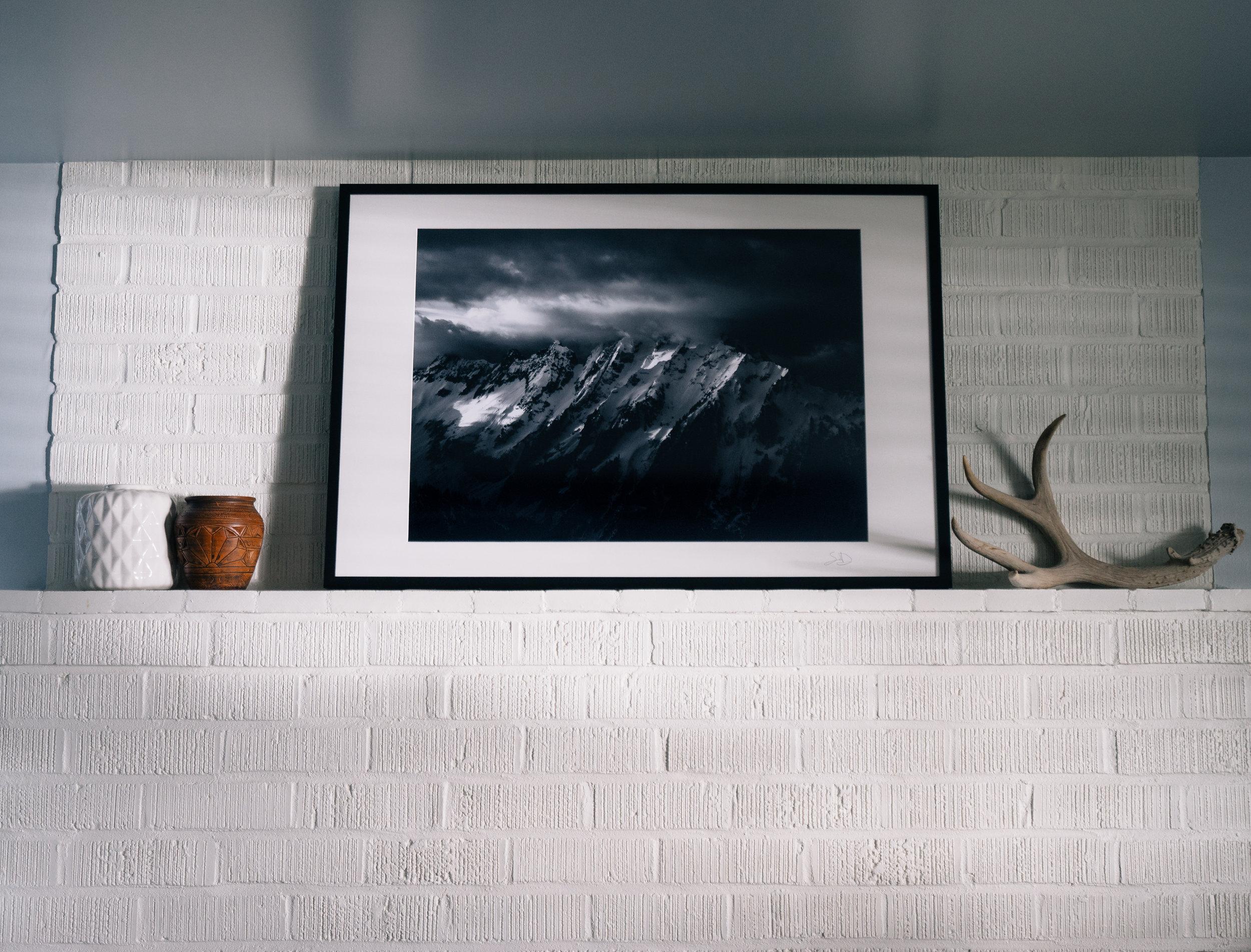 30x20 Print of Johannesburg Mountain.