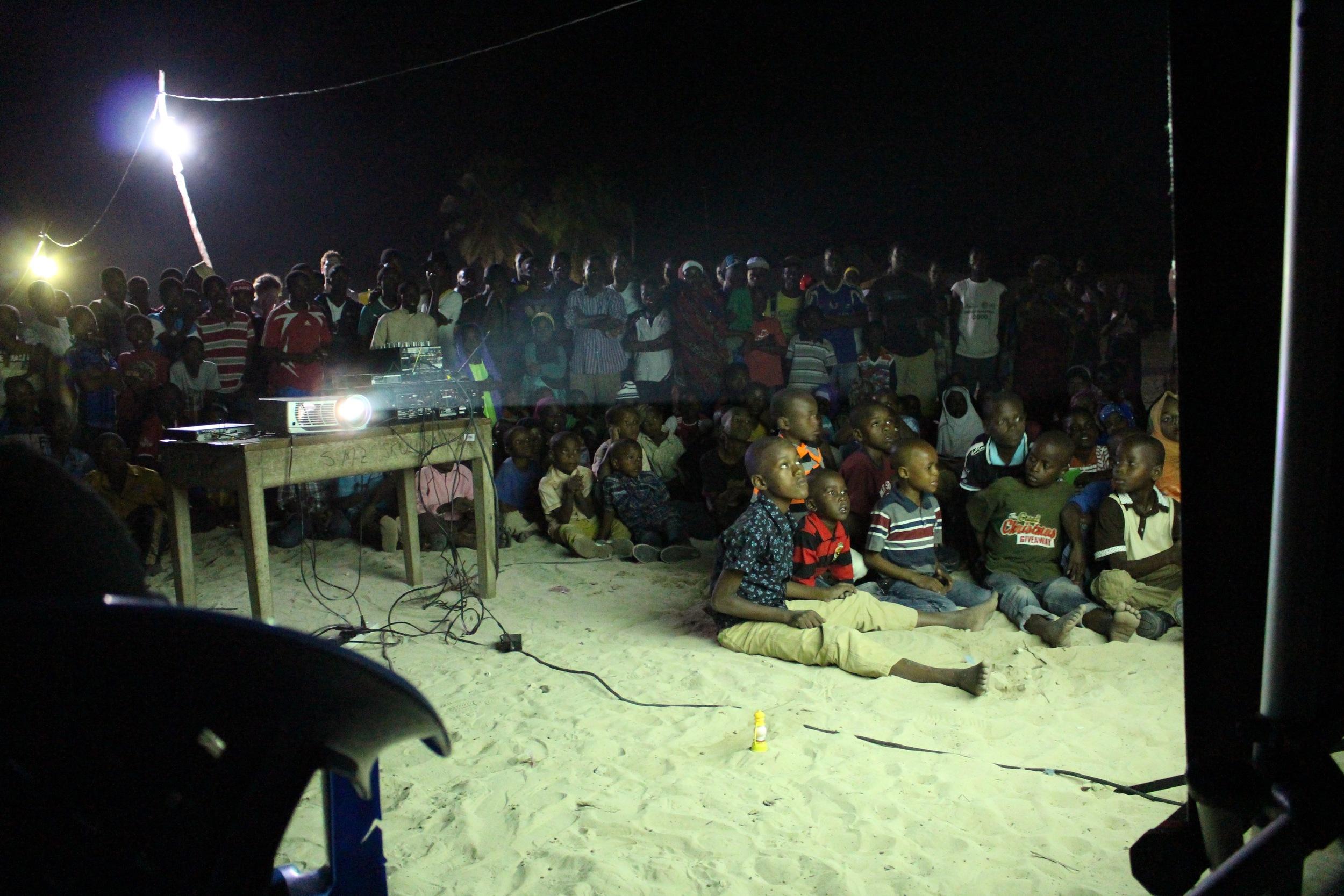 New Generation Queens screening in Paje