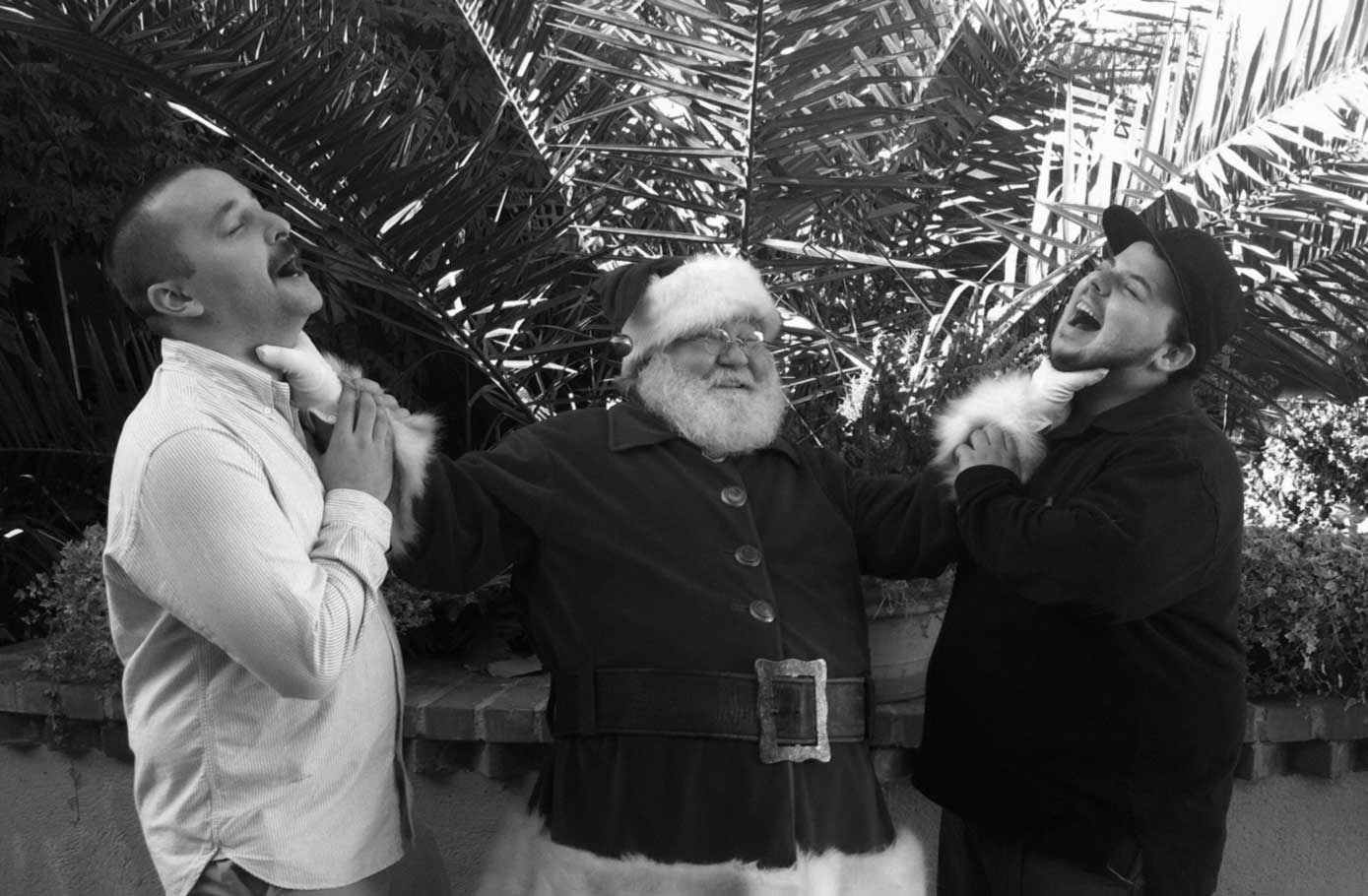 Mark, Santa, and Vinny