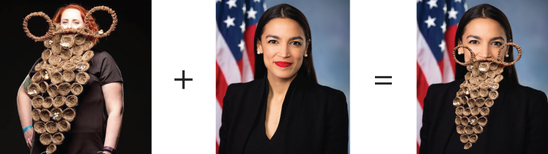 Joyce Quiding and Alexandria Ocasio-Cortez (NY)  (Styling Suggestion)