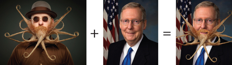 Jimmy Fox and Mitch McConnell (KY)  (Styling Suggestion)