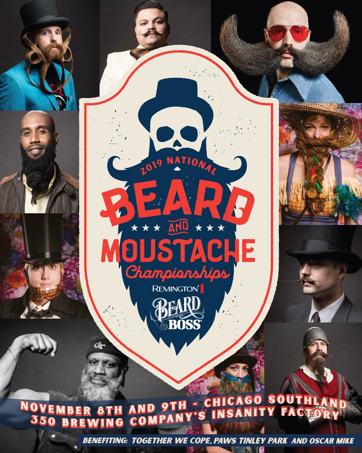 More info on the National Beard and Moustache Championships can be found  HERE.