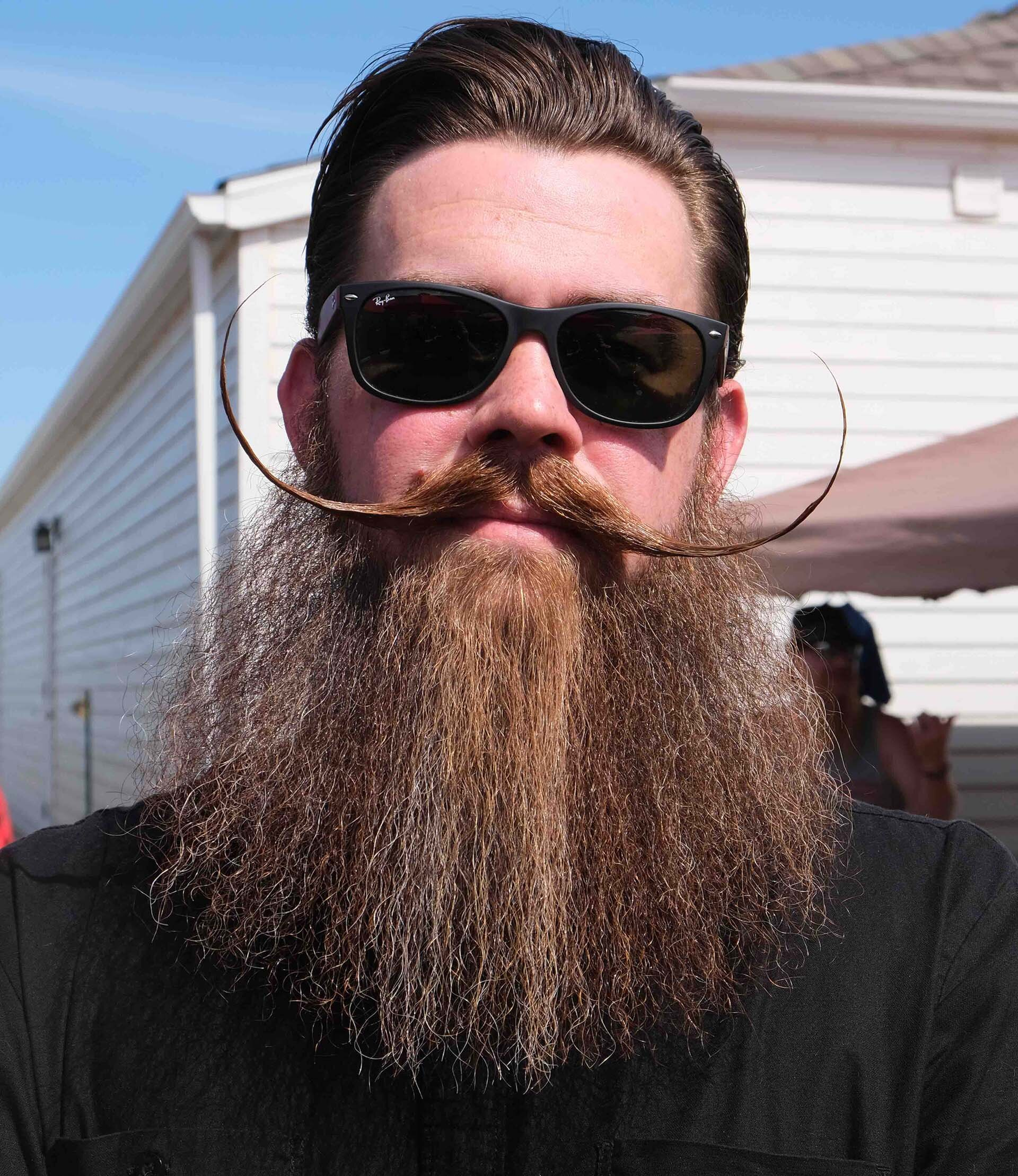 """Nicest Handwriting in Bearding"" - Name: Mike WilsonHometown: Minneapolis, MNOccupation: I.T. RecruiterClub and/or Product Affiliation: Minnesota Beard & Moustache CoalitionHow long have you been bearding? 4 yearsHave you won any awards? Yes, top honor is 2nd place @ 2018 GABMC, Full Beard Styled 'Stache.Why do you do it and/or what is your favorite thing about it?I do it for the camaraderie, for the charity, and for the family I've found. My favorite part is seeing my bearded brethren at comps and seeing the look on the charities' faces when they see the turnout."
