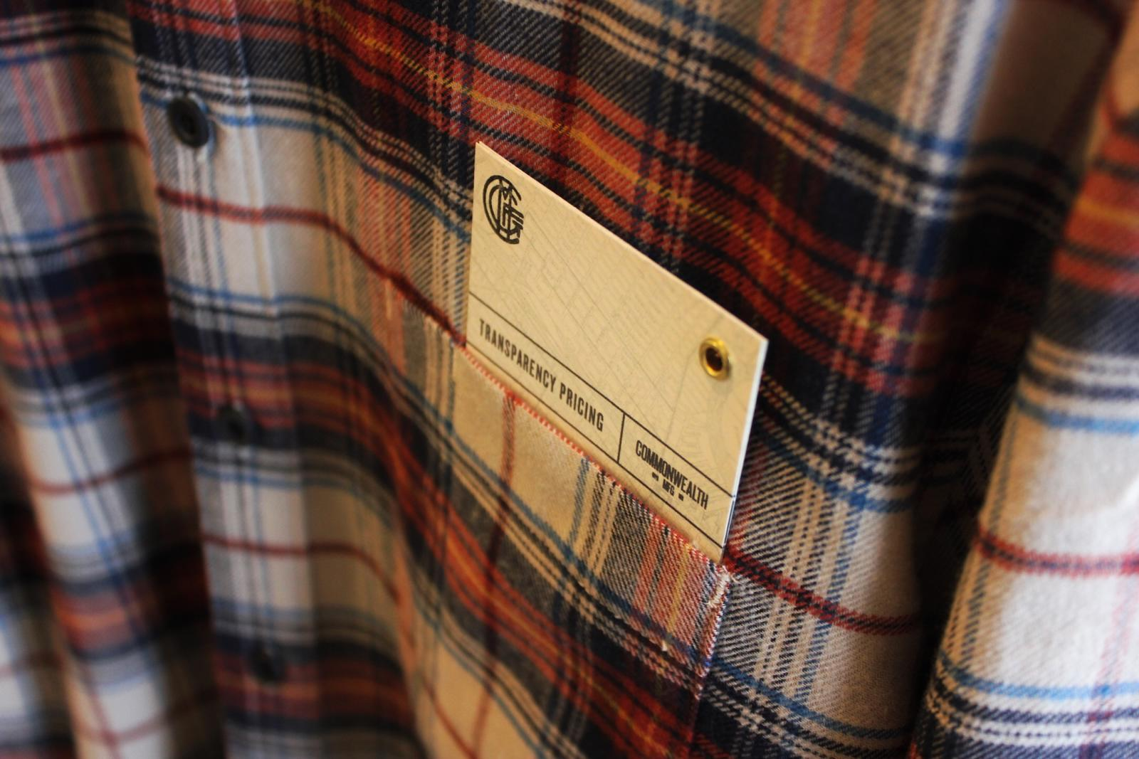 Transparency cards on every shirt.