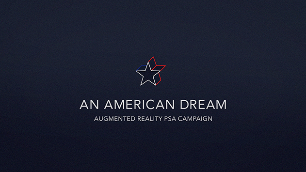 """""""An American Dream""""  Title Card by Cody Samson"""