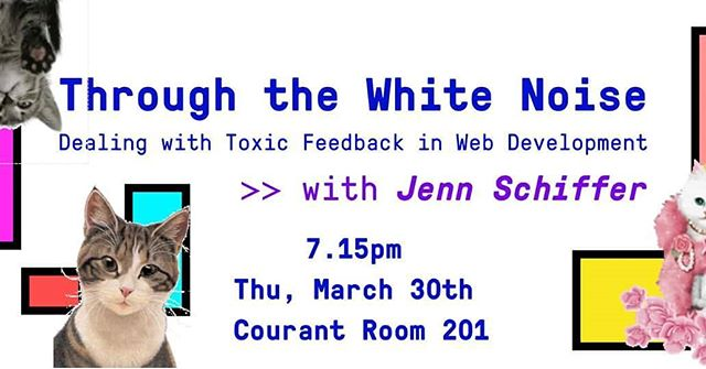 Join us as we discuss open source web dev & dealing with prejudice and toxicity in online feedback culture with Jenn Schiffer! 💕