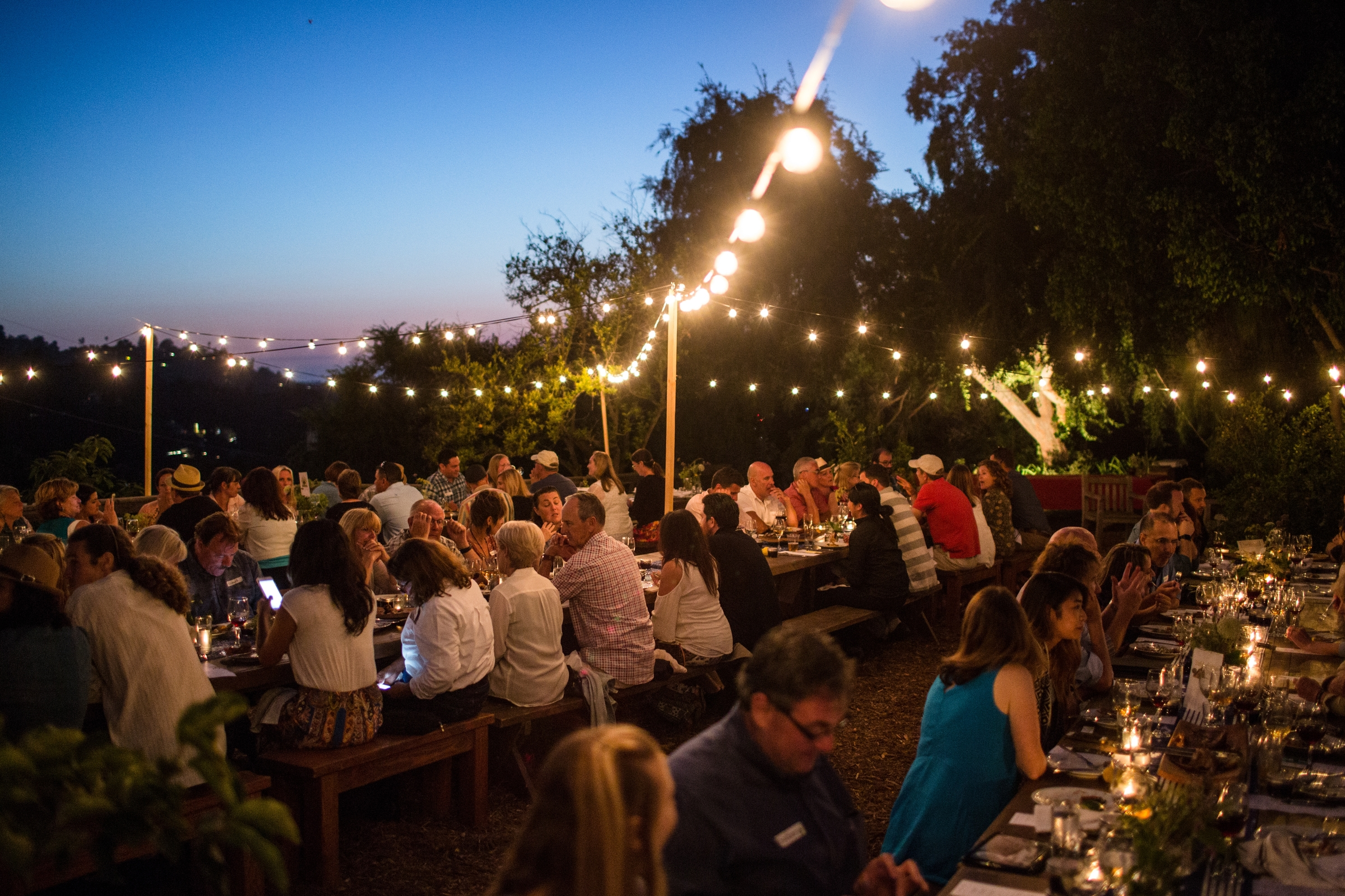 FARMERS, FRIENDS & FISHERMAN DINNER SERIES PART VI  - Six course tasting with pairing, at The Red Door farm on Mt. Helix