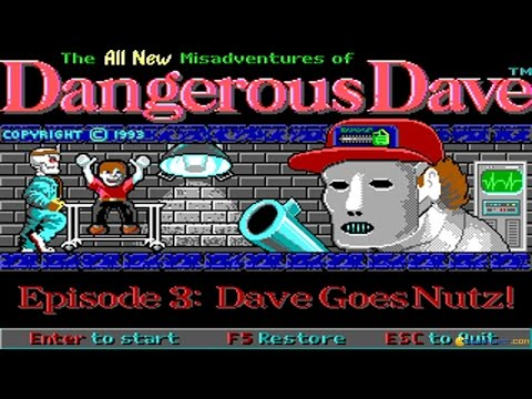 The Saga of Dangerous Dave — Dangerous Dave