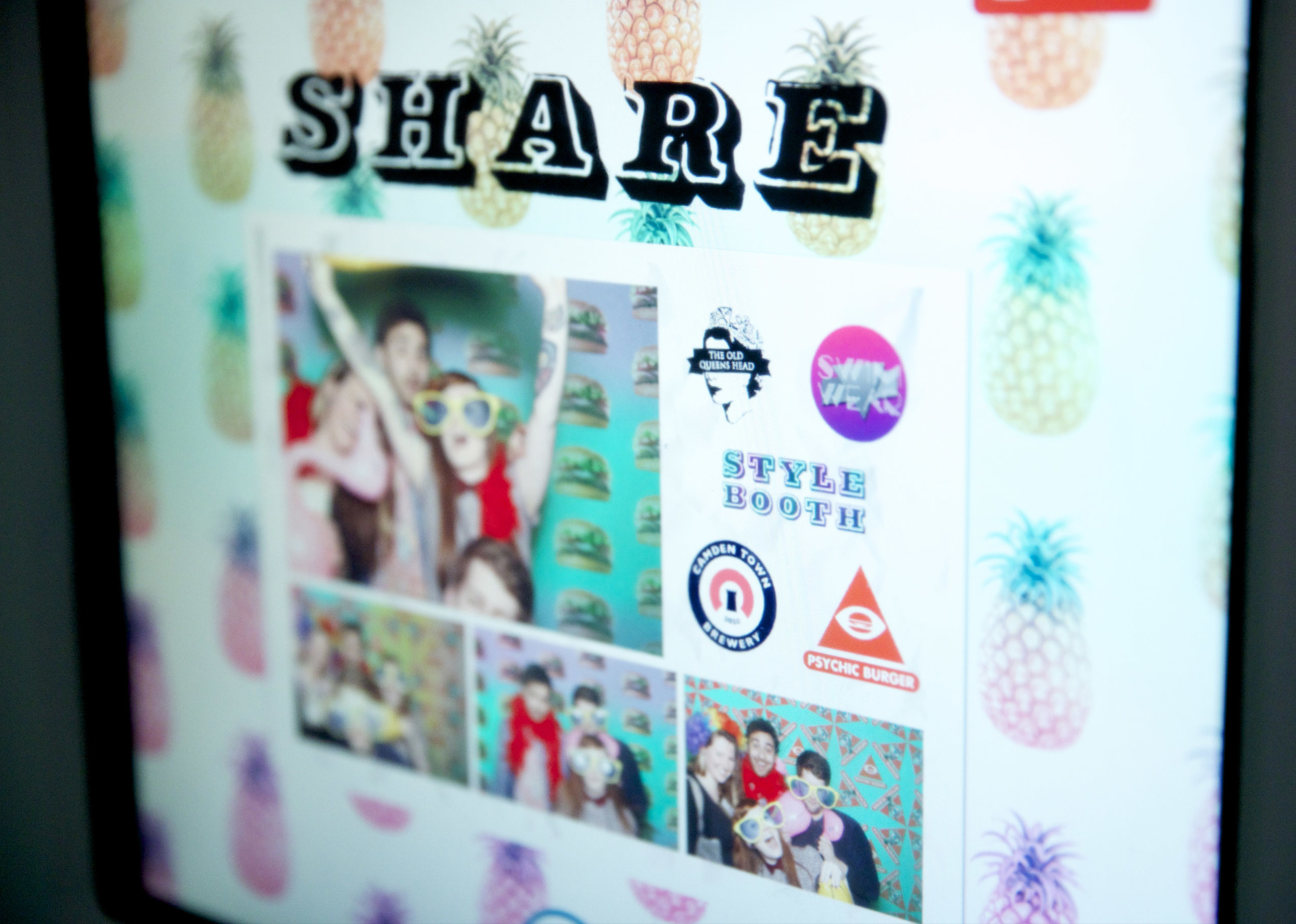 facebook photo booth hire software