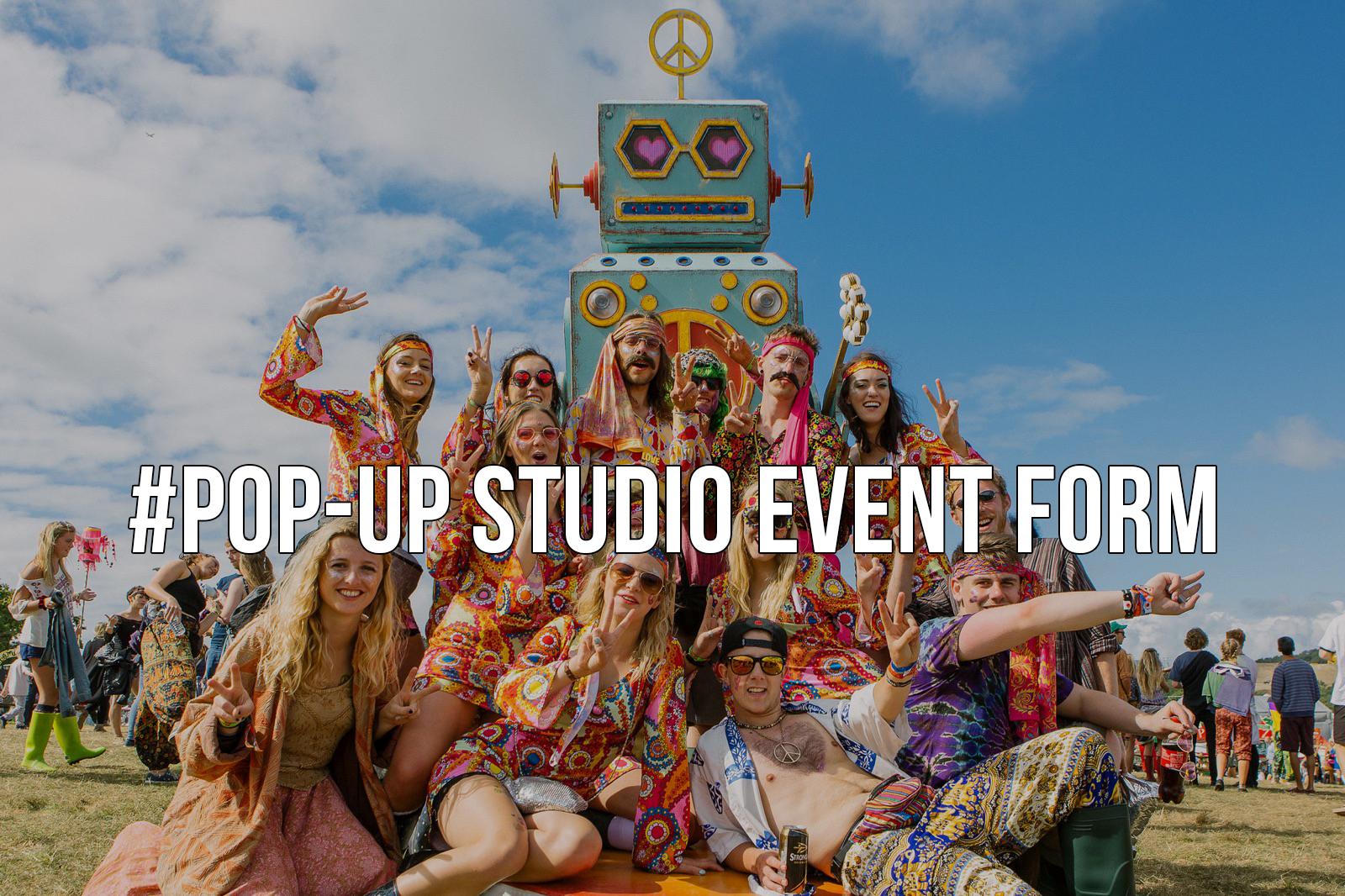 pop up event form